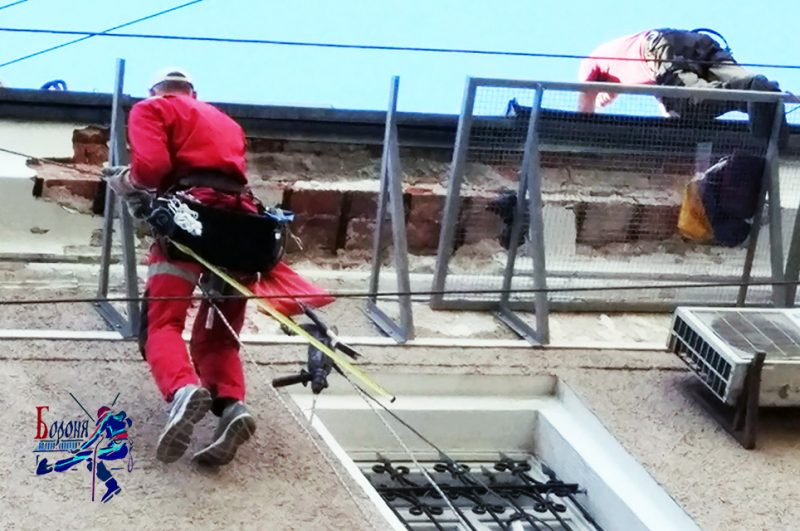 ЗУЭР для безопасности фасада