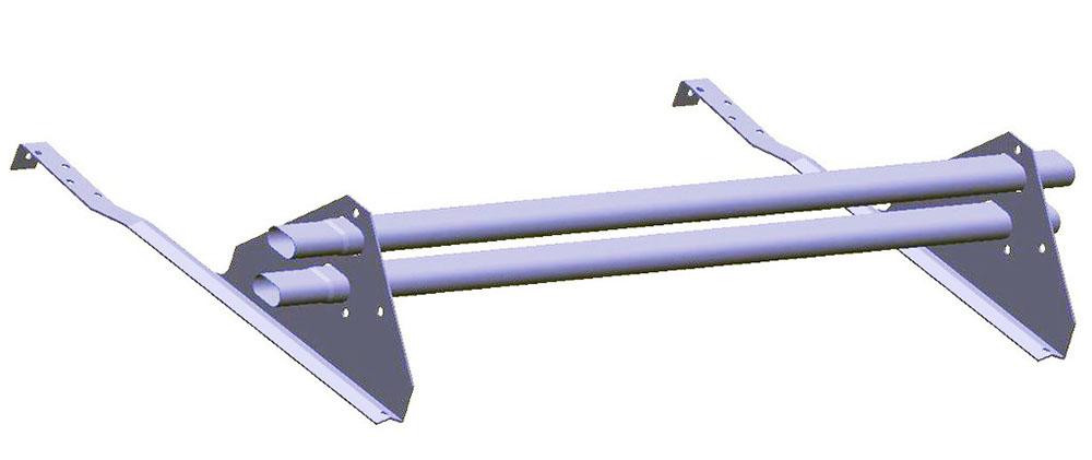 Трубчатые снегозадержатели Roof systems  или Borge для натуральной черепицы