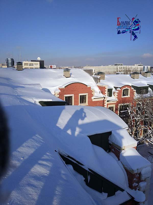 Очистка крыши от снега. Разовые очистки. Абонентское обслуживание. Удаление наледи и сосулек